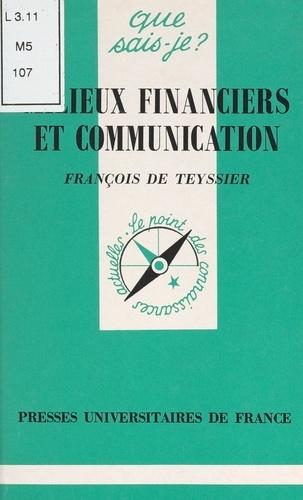 Milieux financiers et communication