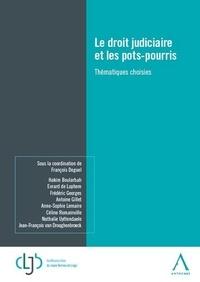 François Deguel - Le droit judiciaire et les pots-pourris - Thématiques choisies.
