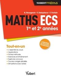 François Delaplace et B Bourgeois - Maths ECS 1e et 2e années.