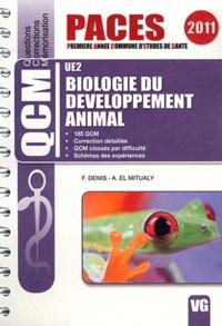 François Denis et A. El Mitualy - Biologie du développement animal.
