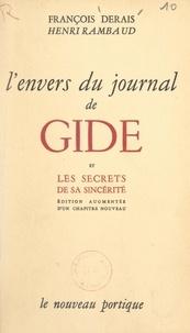 """François Derais et Henri Rambaud - L'envers du """"Journal"""" de Gide, Tunis 1942-1943."""