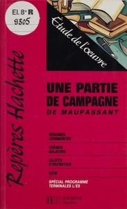 """François Dolléans - """"Une partie de campagne"""" de Maupassant - Étude de l'oeuvre."""