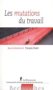 François Dubet - Les mutations du travail.