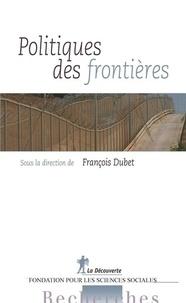 François Dubet - Politiques des frontières.