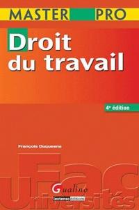 François Duquesne - Droit du travail.