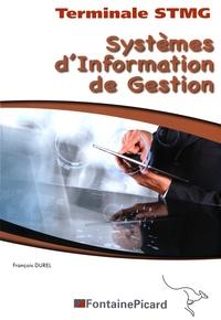 François Durel - Systèmes d'information de gestion Tle STMG.