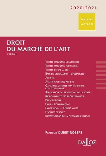 Droit du marché de l'art  Edition 2020-2021