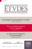 François Euvé - Etudes N° 4250, juin 2018 : .