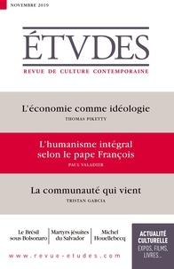 François Euvé - Etudes N° 4265, novembre 20 : .