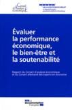 François Fillon - Evaluer la performance économique, le bien-être et la soutenabilité.