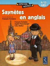 François Fontaine et Sophie Rosenberger - Saynètes en anglais 9-13 ans.