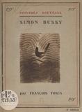 François Fosca et Georges Aubert - Simon Bussy.