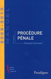 François Fourment - Procédure pénale 2009-2010.