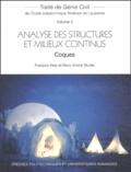 François Frey et Marc-André Studer - Analyse des structures et milieux continus - Coques.