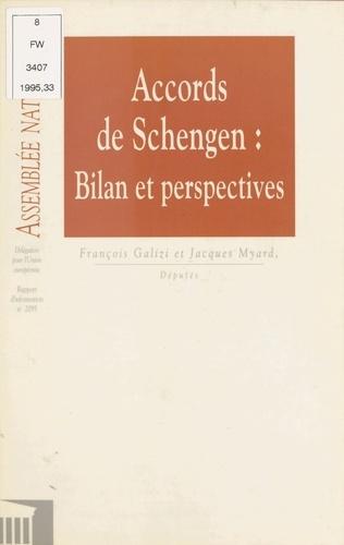 Accords de Schengen : Bilan et perspectives