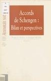 François Galizi et Jacques Myard - Accords de Schengen : Bilan et perspectives.