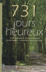 François Garagnon - 731 Jours heureux, Les Pensées revigorantes - Coffret collection en 2 volumes.