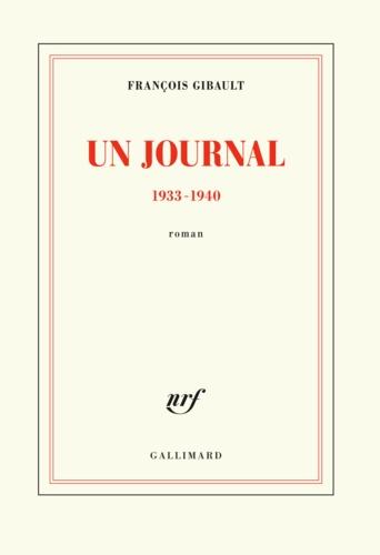 Un journal 1933-1940