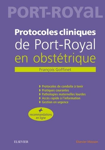 Protocoles cliniques de Port-Royal en obstétrique 5e édition