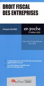 François Goliard - Droit fiscal des entreprises.