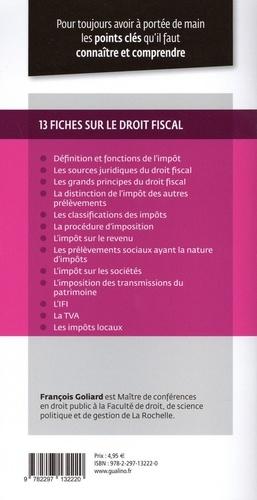 Droit fiscal général  Edition 2021