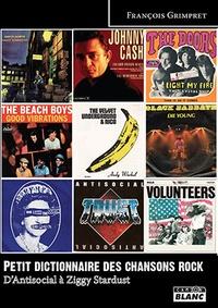 Petit dictionnaire des chansons rock - Dantisocial à Ziggy Stardust.pdf
