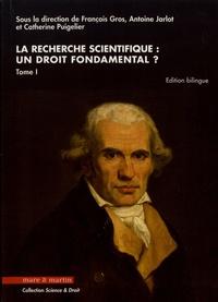 Histoiresdenlire.be La recherche scientifique : un droit fondamental ? - Tome 1 Image