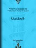 François Guizot et William Shakespeare - Macbeth.
