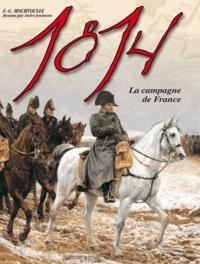 François-Guy Hourtoulle - 1814, La Campagne de France - L'Aigle blessé.