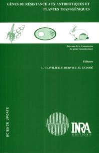 François Hervieu et  Collectif - Gènes de résistance aux antibiotiques et plantes transgéniques.