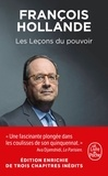 François Hollande - Les lecons du pouvoir.