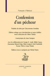 François II Rakoczi - Confession d'un pécheur.