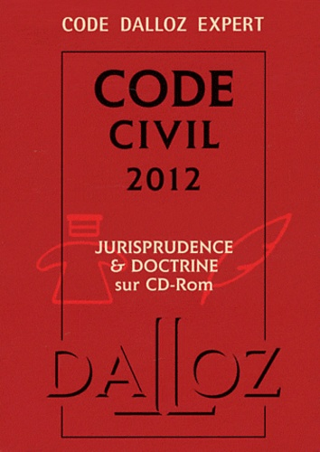 François Jacob - Code civil 2012. 1 Cédérom