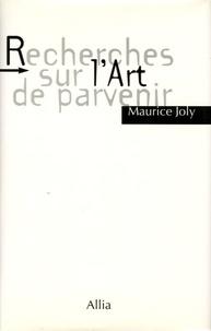 François Joly - Recherches sur l'art de parvenir.