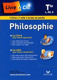 François Jourde - Philosophie Tle L-ES-S.