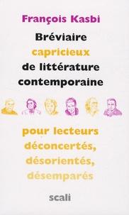 Bréviaire capricieux de littérature contemporaine - Pour lecteurs déconcertés, désorientés, désemparés.pdf