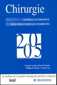 Chirurgie 2005 - Générale et digestive Sélection darticles commentés.pdf