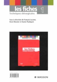 Accentsonline.fr Les fiches Techniques chirurgicales - Volume 1 Image