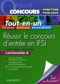 Réussir le concours d'entrée en IFSI- Fonction publique Catégorie B - François Lafargue | Showmesound.org