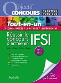 François Lafargue et Vincent Lafargue - Réussir le concours d'entrée en IFSI - Fonction publique Catégorie B.