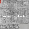François Larché et Bernadette Letellier - La cour à portique de Thoutmosis IV, volume de planches - La cour à portique de Thoutmosis IV, planches.