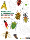 François Lasserre et Isabelle Simler - Mon cahier d'observation et d'activités - Les insectes.