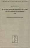 François Laveau - Petit dictionnaire de signes illustré - Tiré du Catéchisme des sourds-muets (1868).