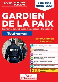 François Lavedan - Concours Gardien de la paix - Catégorie B - Admis - Tout-en-un - Premier, second et 3e concours - 2020.