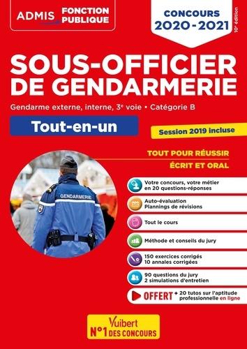 Concours Sous-officier de gendarmerie. Tout-en-un, Externe, interne et 3e voie, catégorie B  Edition 2020-2021