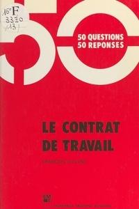 François Lecluse - Le Contrat de travail.