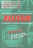 François Lespagnon - Réussir - L'attestation de capacité professionnelle, le justificatif de capacité professionnelle.