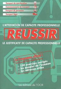 Goodtastepolice.fr Réussir - L'attestation de capacité professionnelle, le justificatif de capacité professionnelle Image