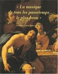 """François Lesure et Henri Vanhulst - """"La musique, de tous les passetemps le plus beau"""" - Hommage à Jean-Michel Vaccaro."""