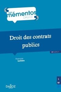 François Lichère - Droit des contrats publics.